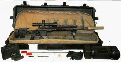 Снайпер США получил новое оружие ХМ2010