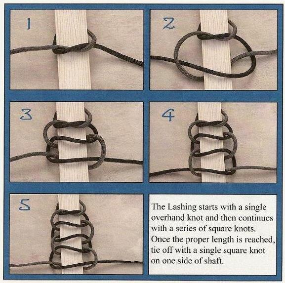 Как сделать оплетку рукоятей 157