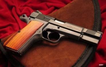 Браунинг пистолет со сложной историей