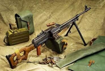 Пулемет Калашникова ПК (ПКМ) 7,62 мм.