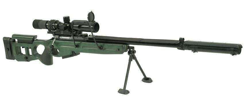 СВ-98 — российская снайперская винтовка