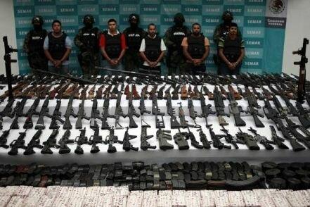 Продажа легального оружия в Мексике